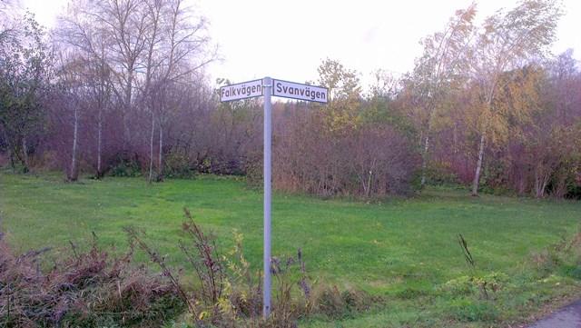 Falkvägen - Svanvägen